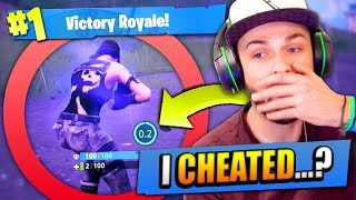 I CHEATED DEATH in Fortnite: Battle Royale...!