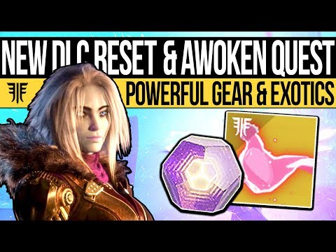 Destiny 2   NEW QUESTS & HUGE DLC RESET! Nightmare Curse, New Rewards & Eververse (25th Sept) (видео)