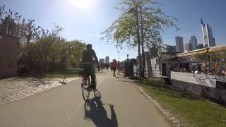 Neu-Isenburg Germany  City pictures : GoPro Spring Bike Ride Neu-Isenburg to Frankfurt am Main