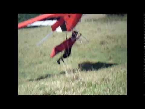 voo de asa na rampa do gaucho em Divinésia