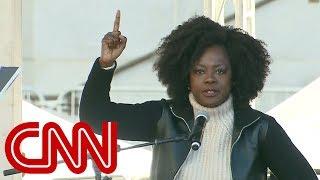 Video Viola Davis speaks at Women's March MP3, 3GP, MP4, WEBM, AVI, FLV Desember 2018