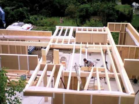 comment construire en ossature bois
