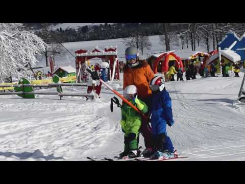 ALPINA Carat Visor Skihelm für Kinder