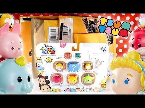 Disney Tsum Tsum Vinyl Series 2 and Pin Mail! Disney Trading Pins Mickey Mouse
