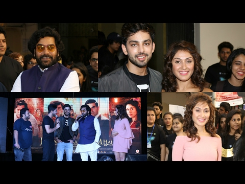 "Ashutosh Rana, Manjari Fadnis And Himansh Kohli At Trailer Launch Of Film ""Jeena Isi Ka Naam Hai"""
