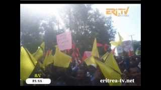 Eri-TV - Violent Ethiopian Protest - Oromo Students - Ambo - Dire Dawa
