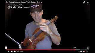 The Realist Acoustic Electric Violin 5-string Review