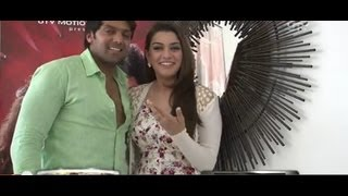 Hansika's interview on working in Settai