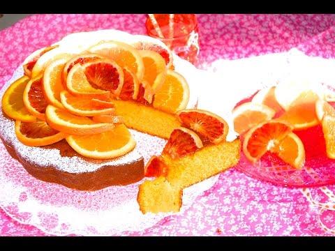 torta di arance con marmellata nell'impasto