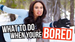 WHAT TO DO WHEN YOU'RE BORED! Winter Edition | Mylifeaseva by MyLifeAsEva