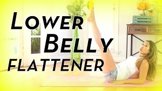 Lower Belly Flattener | POP Pilates - YouTube