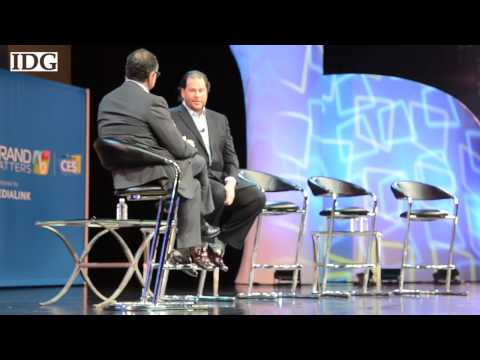 Marc Benioff of Salesforce talks social media strategy and consumer opinion