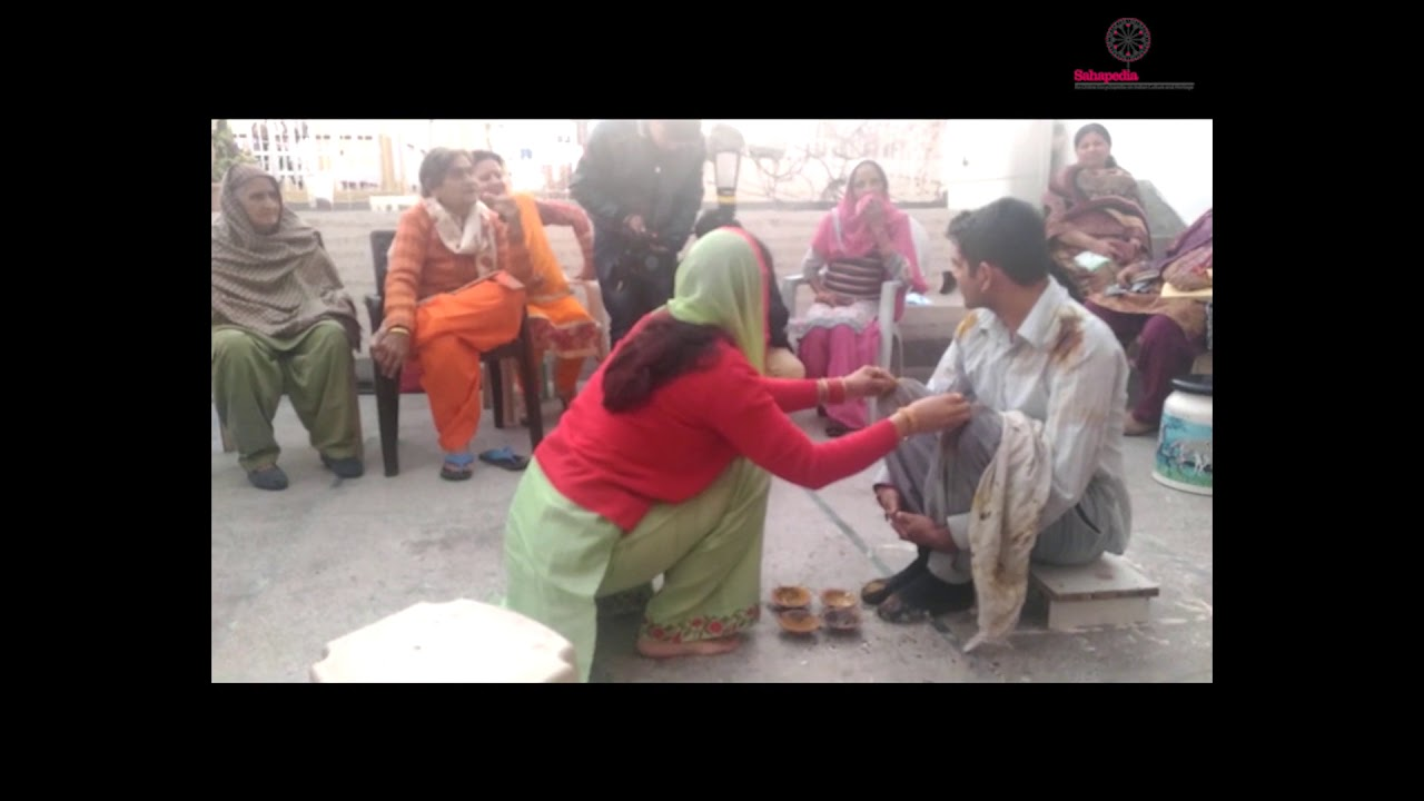 Jat Haryanvi Marriage Rituals: Tael Chadhana