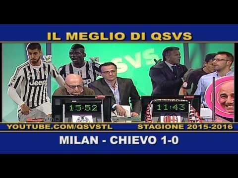 qsvs: i goal di milan - chievo 1-0