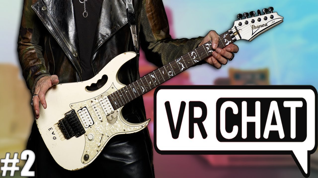 Playing Guitar on VRChat Ep. 2 – Theme Songs