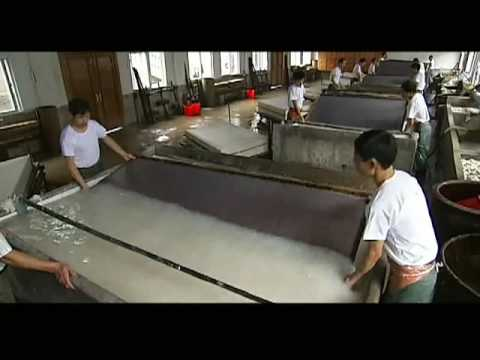 Traditional Handicrafts Of Making Xuan Paper Intangible Heritage