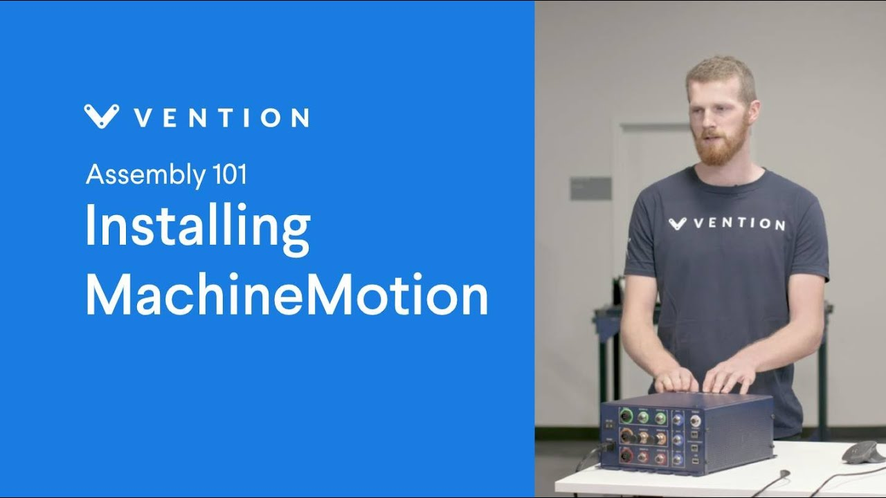 Installing MachineMotion
