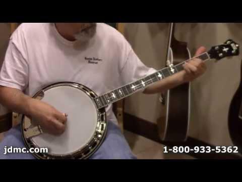 Recording King R-36 Madison Banjo Review by JDMC