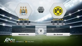 BVB vs Man City Gameplay