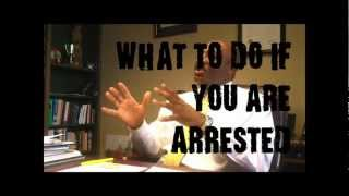 What To Do If You're Arrested