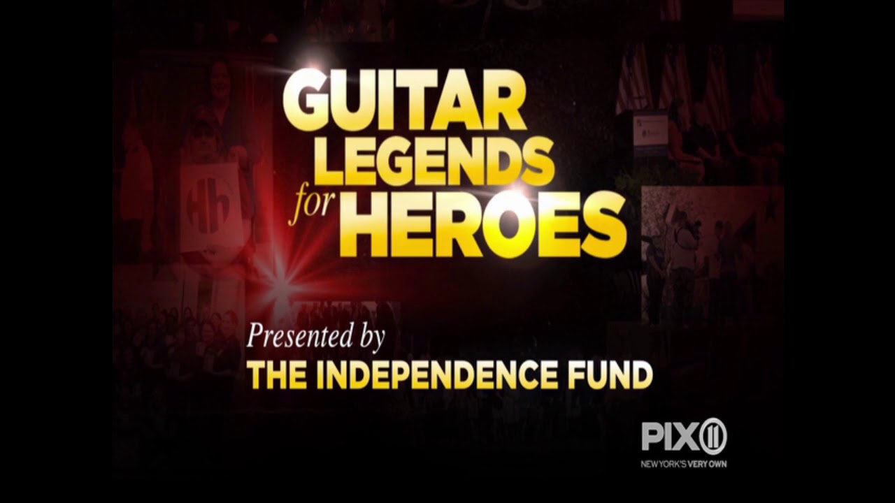 WPIX Guitar Legends for Heroes