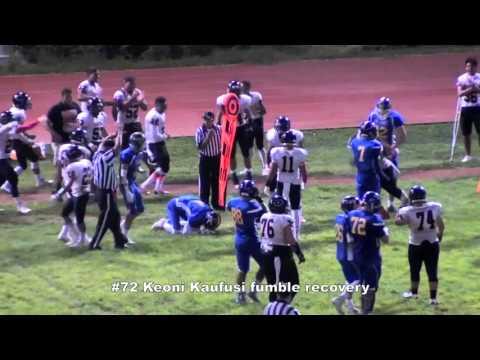 Kaufusi fumble recovery and run 10/10/15