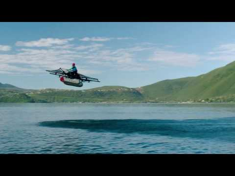 Here's the First Footage of the Larry Page-Backed 'Flying Car'
