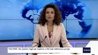 RTK3 Lajmet e orës 13:00 16.07.2019