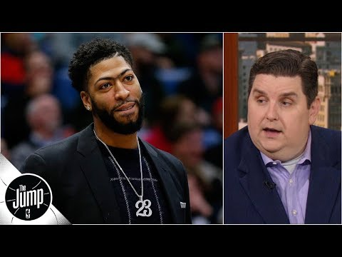 Video: NBA threatened to fine Pelicans $100K/game for sitting Anthony Davis - Brian Windhorst | The Jump