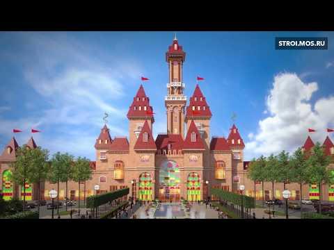 ВМоскве строится гигантский парк аттракционов «Остров мечты»
