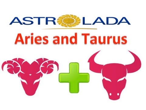 Aries and Taurus Relationships with astrolada.com