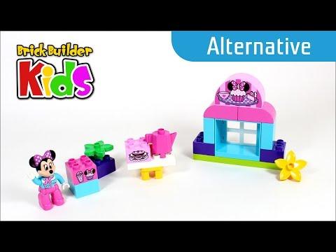 Vidéo LEGO Duplo 10830 : Le café de Minnie