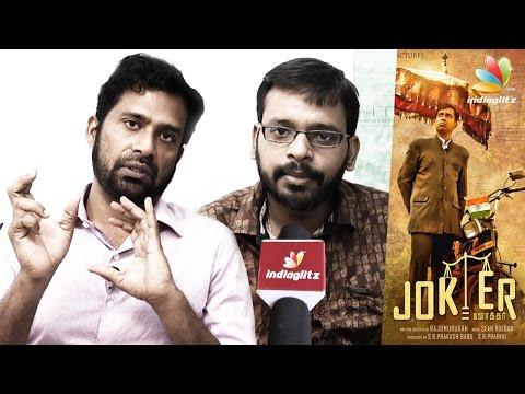 Everyone-has-a-mobile-but-many-dont-have-toilets--Raju-Murugan-Guru-Somasundaram-Joker-Interview