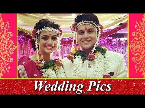 Shruti Marathe Gets Married To Gaurav Ghatnekar   Wedding Pictures Out   Marathi Entertainment (видео)