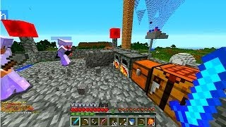 Minecraft BATTLEDOME #48 'THE ELITE FOUR!' with Vikkstar, PrestonPlays, Choco&TBNRKenny