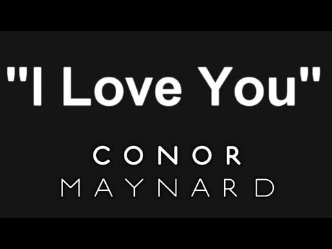 Tekst piosenki Conor Maynard - I Love You po polsku