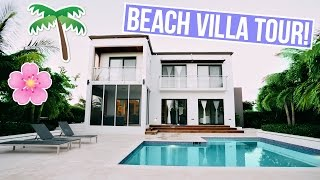 BEACH VILLA TOUR IN TURKS AND CAICOS! by Aspyn + Parker