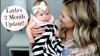 Hi everyone!! Our sweet baby girl is 2 months old! This past month has been so much fun, Layla is just the best little babe!! Thank you so much for watching, love you all!:)Meet Layla!! Our Birth Story-https://youtu.be/U9M7shYIAIULayla's 2 Week Update- https://youtu.be/mCwPsarmYRsLayla's 1 month Update-https://youtu.be/V-HhOeT7fU4Follow me!Instagram- https://www.instagram.com/heykayli/Facebook: https://Facebook.com/HeyKayliPageTwitter: https://Twitter.com//Hey_KayliSUBSCRIBE to HEYKAYLIhttp://bit.ly/HeyKayliSUBSCRIBE to CASEYLAVEREhttp://bit.ly/CaseyLavereChannelSUBSCRIBE to HUSHINWITHLAVEREhttp://bit.ly/HushinWithLavereSUBSCRIBE to THEMOMSVIEWhttp://bit.ly/TMVChannel