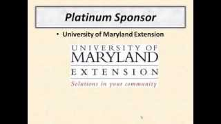 Accelerating Wood Energy in Maryland: Introduction&Sponsors
