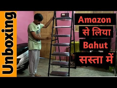 Parasnath Milano 7 Step Ladder | Unboxing | Best Ladder For Home/Office