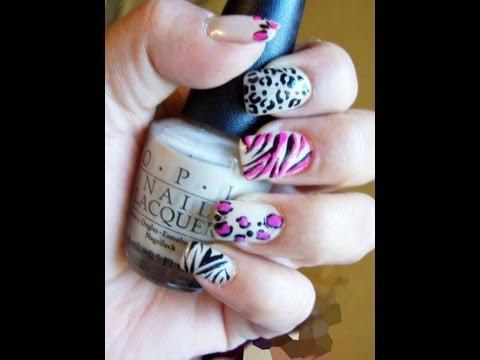 Diseño en Uñas: ANIMAL PRINT|anabellannagrey♥
