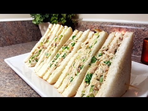 Chicken & Mayonnaise Sandwiches | Quick & Delicious