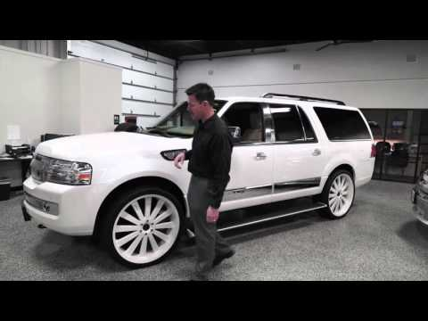 Used 2010 Lincoln Navigator L - Custom Wheels - Rogers, Blaine, Minneapolis, St Paul, MN B6527