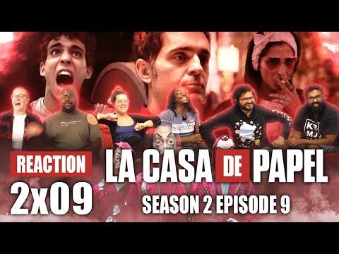 La Casa De Papel (Money Heist) - Season 2 Episode 9 - Group Reaction