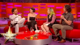 Micky Flanagan And Matthew McConaughey Talk About Mickey's Wife's Monkey Feet