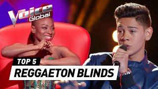 Video Incredible REGGAETON SONGS in The Voice (Kids) MP3, 3GP, MP4, WEBM, AVI, FLV April 2019