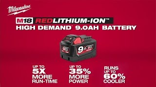 Milwaukee® Powertools M18 REDLITHIUM™ 9.0 Battery