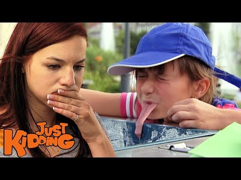 TONGUE FROZEN TO ICE CREAM CART PRANK