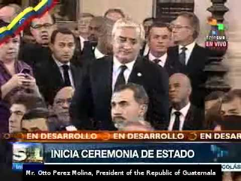 More than 30 world leaders attend Chávez funeral