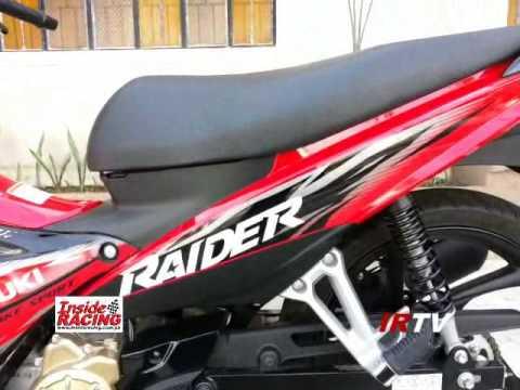 2014 Suzuki Raider 115 J FI Walkaround